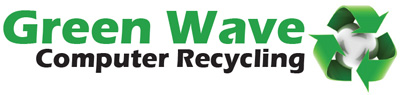 green wave computer recycling logo